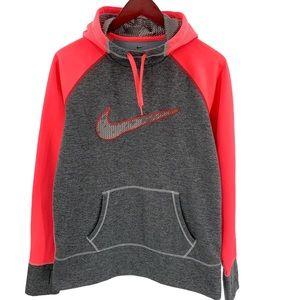 Nike Therma Fit Athletic Fleece Lined Hoodie L